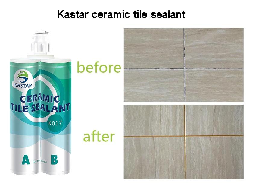 After using kastar ceramic tile sealant