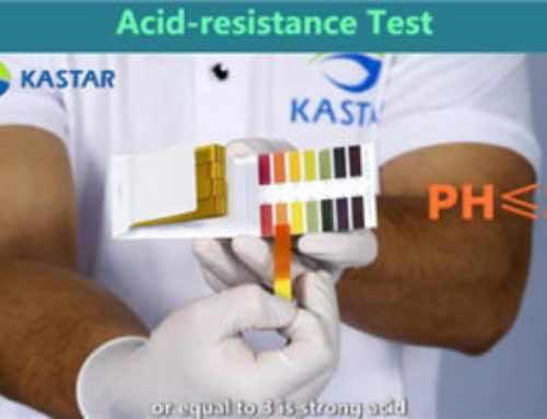 Performance testing of Kastar products