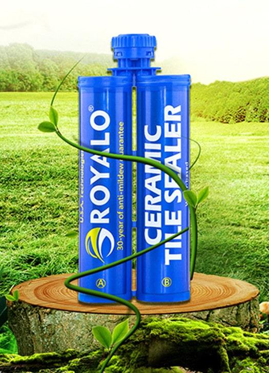 Royalo water based ceramic tile sealer