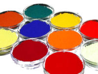 The pigment comes from BASF Germany