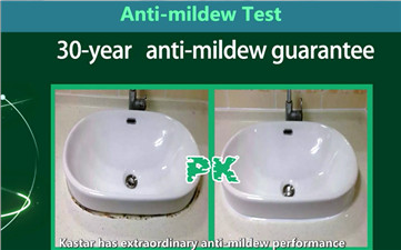 The test of Anti-mildew