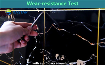 The test of Wear-resistance
