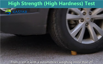 The test of high strength(high hardness)