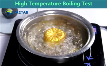 The test of high temperature boiling