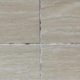 Traditional tile grout will Colour fading