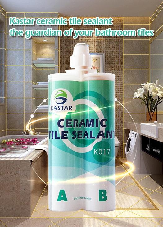 Kastar ceramic tile sealant, the guardian of your bathroom tiles.