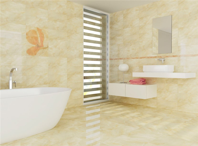 Six types of tiles suitable for bathroom decoration - ceramic tiles