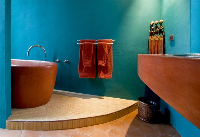 Six types of tiles suitable for bathroom decoration - clay brick