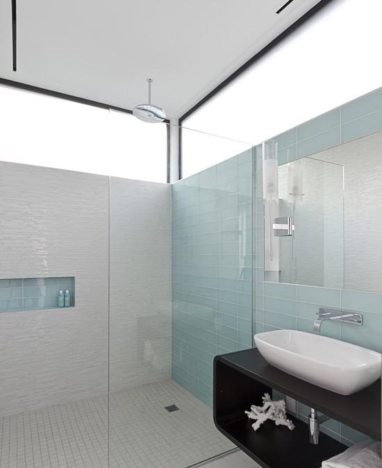 Six types of tiles suitable for bathroom decoration - glass brick