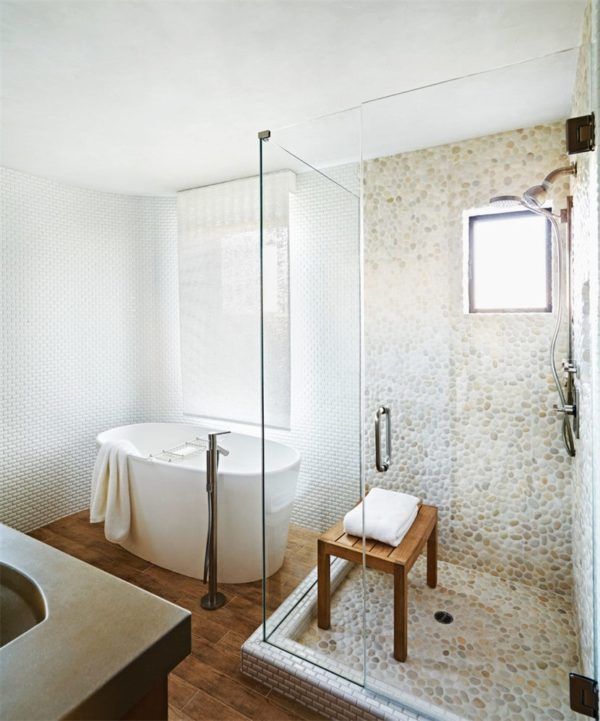 Six types of tiles suitable for bathroom decoration - goose soft stone tiles