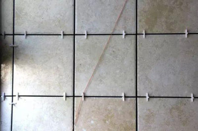 A special cross locator for this type of tile should be requested