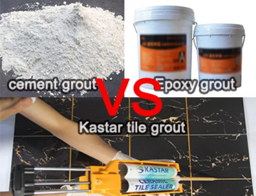 Difference between Traditional Grout and KASTAR GROUT