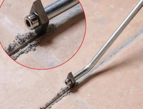 Can tile caulking material be refilled?